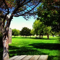 Photo taken at Roy G. Holland Memorial Park by Amy L. on 4/7/2013