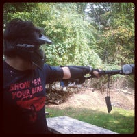 Photo taken at Cousins Paintball Staten Island by Spanish Rob V. on 10/14/2012