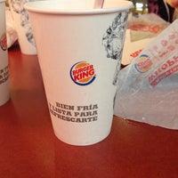 Photo taken at Burger King Tlane by Ivonne E. on 1/2/2014