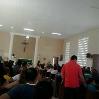 Photo taken at Capela São Pedro Julião Eymard by Edglauco Q. on 11/3/2013