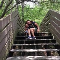 Photo taken at Bay Bluffs Park by Grace C. on 6/6/2016