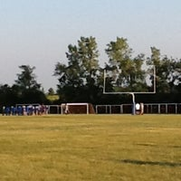 Photo taken at Canton Lions Practice Fields by Stacy B. on 8/19/2013