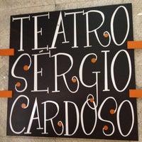 Photo taken at Teatro Sérgio Cardoso by Daniel R. on 11/1/2012