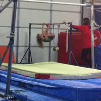 Photo taken at Excalibur Gymnastics by Jennie S. on 12/8/2012