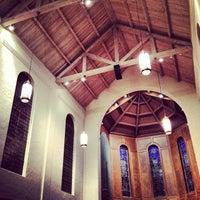 Photo taken at Lois Perkins Chapel by Antonio on 12/5/2013