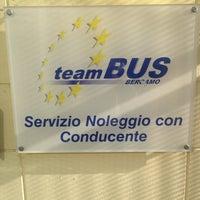 Photo taken at Team Bus Bergamo by Sebastiano N. on 9/2/2014