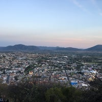 Photo taken at Capilla del Cerro de San Miguel by Isaac G. on 12/11/2017