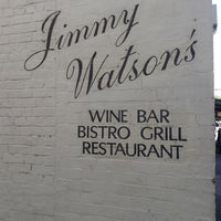 Photo taken at Jimmy Watson's Wine Bar And Restaurant by Remote Control T. on 10/7/2013