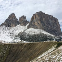 Photo taken at Rifugio Passo Sella by Jörg S. on 9/13/2017