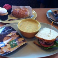 Photo taken at Panera Bread by Mushabab M. A. on 10/11/2013