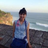 Photo taken at Kuta Beach by jane n. on 6/28/2014