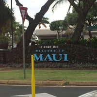 Photo taken at Kahului Airport (OGG) by Lissa A. on 11/20/2012
