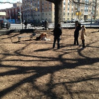 Photo taken at Marcus Garvey Park - Dog Run by Meredith E. on 4/6/2013