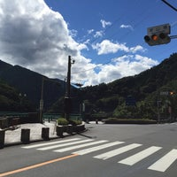 Photo taken at 深山橋 by 眉毛男 on 7/22/2015
