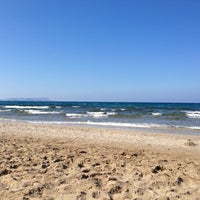 Photo taken at Beach of Lyttos Beach by Дмитро Б. on 9/25/2013