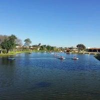 Photo taken at Parque Recreativo El Ameyal by Elizabeth V. on 10/26/2014