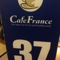Photo taken at CafeFrance by Dindo M. on 2/3/2016