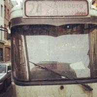 Photo taken at Tram 24 Silsburg <> Schoonselhof by Ceren K. on 8/30/2013