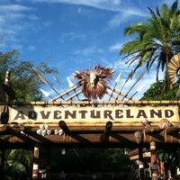 Photo taken at Adventureland by JC on 10/19/2012