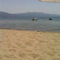 Photo taken at Plaj by Sinem D. on 7/28/2014
