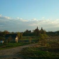 Photo taken at Ханево by Alex V. on 5/1/2014