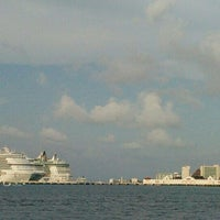 Photo taken at Ferry Terminal Mexico Waterjets by Hector P. on 11/14/2015