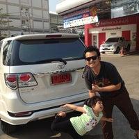 Photo taken at Toyota Nonthaburi by mod t. on 2/23/2013