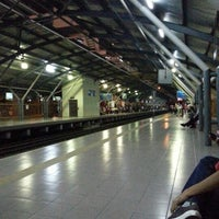 Photo taken at KTM Line - Mid Valley Station (KB01) by Mulyadir F. on 12/15/2012
