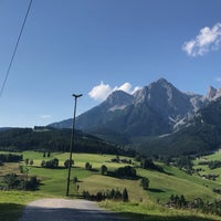 Photo taken at Maria Alm by رِهام on 7/19/2017