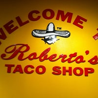 Photo taken at Roberto's Taco Shop by JohnFreitag R. on 12/20/2012