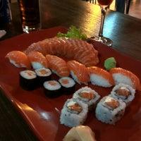 Photo taken at Ebisu Sushi Bar by Luma C. on 6/20/2014