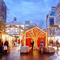 Photo taken at Union Square Holiday Market by Ruth K. on 12/6/2017