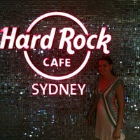 Photo taken at Hard Rock Cafe Sydney by april m. on 2/1/2013