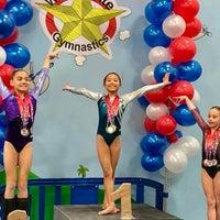 3/13/2018 tarihinde Los Angeles School of Gymnasticsziyaretçi tarafından Los Angeles School of Gymnastics'de çekilen fotoğraf