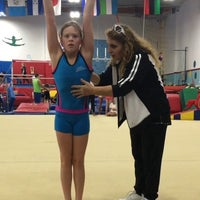 Photo taken at Los Angeles School of Gymnastics by Los Angeles School of Gymnastics on 2/7/2017