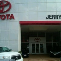 Photo taken at Jerry's Toyota by Christopher S. on 8/8/2013