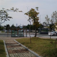 Photo taken at Sillyewon Stn. by 동학 김. on 9/18/2014