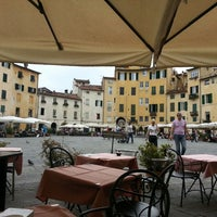 Photo taken at Piazza dell'Anfiteatro by James H. on 6/8/2013