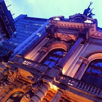 Photo taken at Theatro Municipal de São Paulo by Leonardo Augusto M. on 1/10/2013