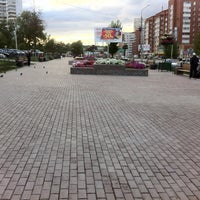 Photo taken at Сквер Журналистов by Константин С. on 8/26/2013