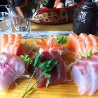 Photo taken at Sushi all'Osteria Tsuru by Agnese S. on 7/31/2013
