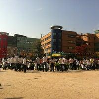Photo taken at 언동초등학교 by Jeongmin K. on 10/13/2012