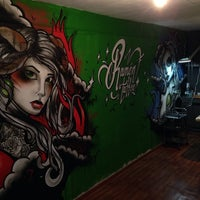Photo taken at Ramon Tattoo by Alexander A. on 2/27/2014