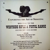 Photo taken at West Side Rifle & Pistol Range by Ruben G. on 4/5/2014