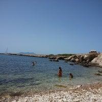 Photo taken at Cala Rotonda by Speranza S. on 8/29/2013