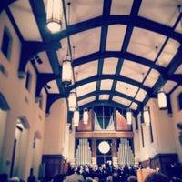 Photo taken at First United Methodist Church by Sean P. on 2/15/2015