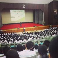 Photo taken at Triamudom Suksa School by Pitchayapa A. on 5/14/2013