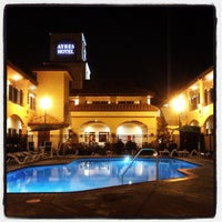 Photo taken at Ayres Hotel Redlands by Christian F. on 11/17/2012