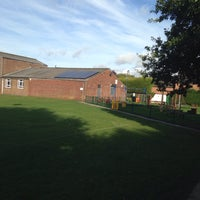 Photo taken at Village Hall And playing Fields by Bob P. on 10/5/2013