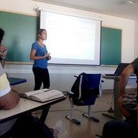 Photo taken at Bloco Didático I - UFG by Rodrigo B. on 4/26/2014